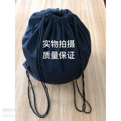 供应东莞塘厦丰采制衣厂家加工直销黑色加厚棉布头盔布袋大号收纳袋