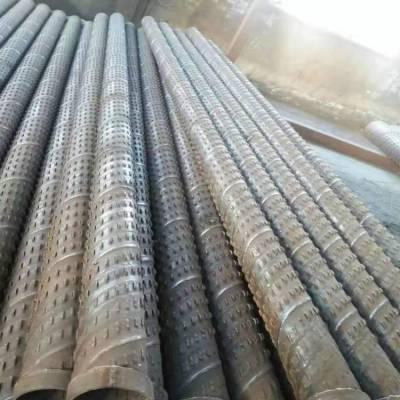 供应营口325mm井壁管、桥式滤水管农田灌溉井钢管价格
