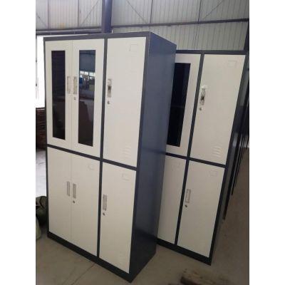 重庆玻璃文件柜 玻璃门办公柜 简约铁皮档案柜 重庆厂家直销