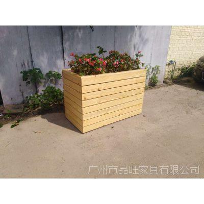 专业定制实木户外花箱FX-056