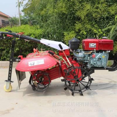 柴油6马力微耕机价格 多功能手扶式旋耕机 自走式松土微耕机
