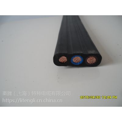 栗腾(上海)特种电缆供应YFFB抗撕裂龙门吊扁电缆
