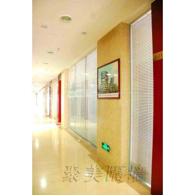 供应淄博玻璃隔断——聚美隔墙为您打造完美办公空间