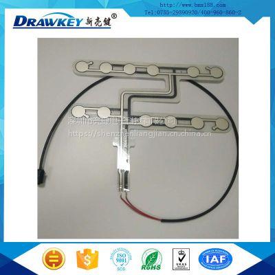 优质耐用薄膜感应开关|座椅重量传感器|薄膜压力传感器|深圳薄膜印刷线路厂商供应