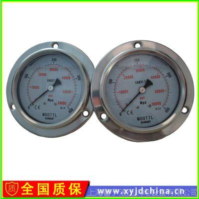 德国MOOTTL超高压耐震不锈钢压力表 高压压力表500MPA现货供应
