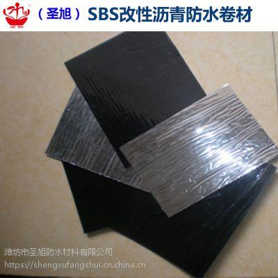 SBS防水卷材 改性沥青防水卷材 聚酯胎基 3mm国标 屋顶防水