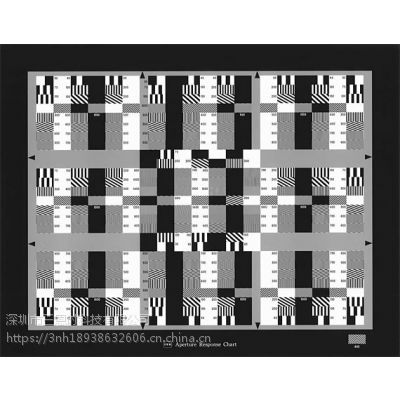 ITE测试卡 AR和分辨率光圈特性测试卡