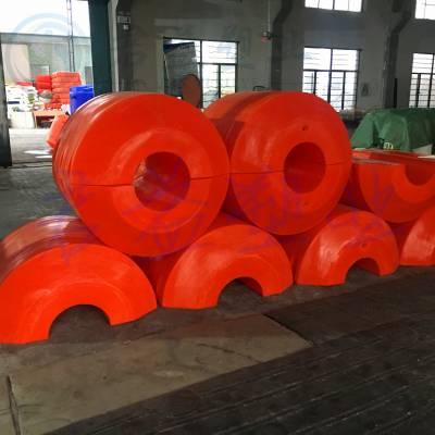 码头异型浮体 直径1.1*1.1米塑料浮筒 君益滚塑浮筒