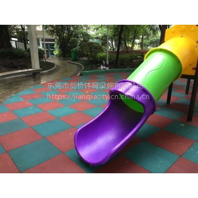 儿童健身器材区域安全地垫哪有卖 剑桥25mm橡胶地砖价格低 深圳户外正方形地胶