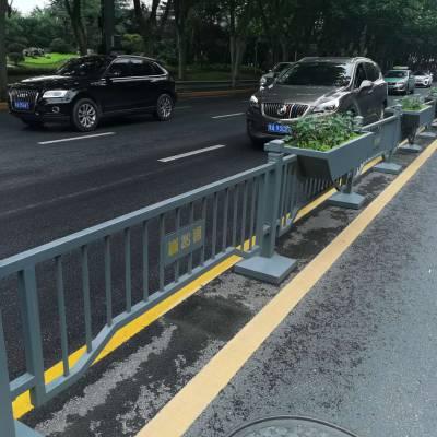 河南开封许昌市政道路交通隔离栏 护栏栏杆马路中间防护栏