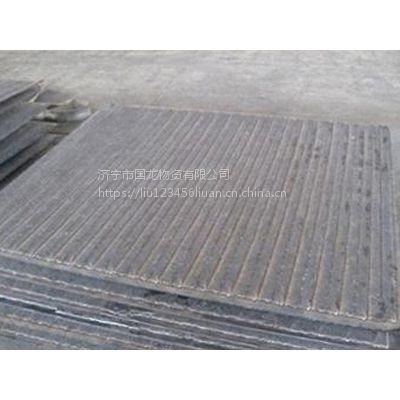 山东8+6堆焊耐磨衬板 明弧焊复合钢板