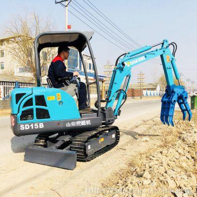 四川六盘水多功能威尼斯官网 小型挖土机价格 小挖机