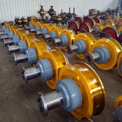 批发行车行走车轮 250-800车轮组 来图加工定制轮 亚重 起重机配件厂家