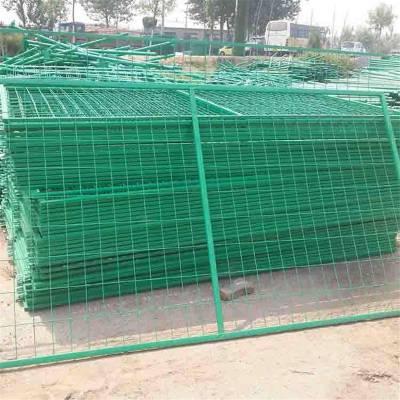 安庆包塑框架护栏网 垃圾填埋场试验场地专用 厂家千款规格可定做
