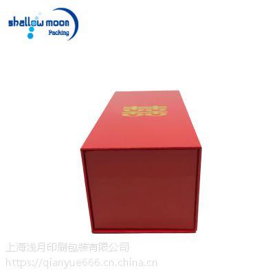 专业定做高档喜庆红色礼盒 喜事礼品盒 结婚伴手礼盒 加优质内垫