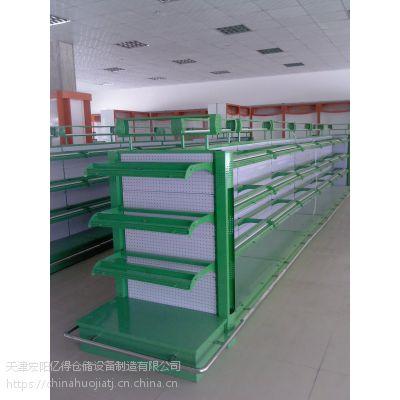 天津宏阳 L2000*W400*H2000 轻型超市货架
