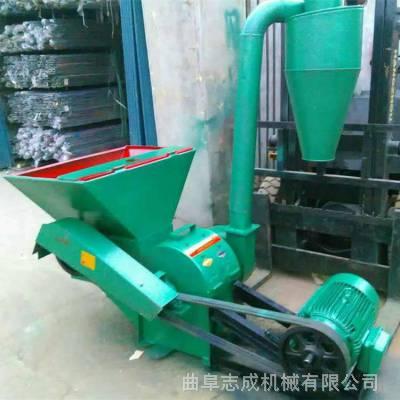 养殖场青贮饲料粉碎机 沙克龙自动进料粉碎机 干湿秸秆破碎机