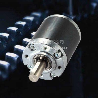 宁波拓尔电机供应TWIRL PG36mm行星减速齿轮箱 减速箱配直流有刷555 GR BL36马达