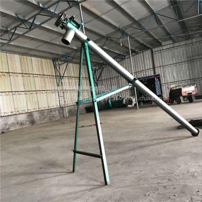 宏瑞出售绞龙式抽粪机干湿两用提粪机养殖污水处理机螺旋绞龙式吸粪机