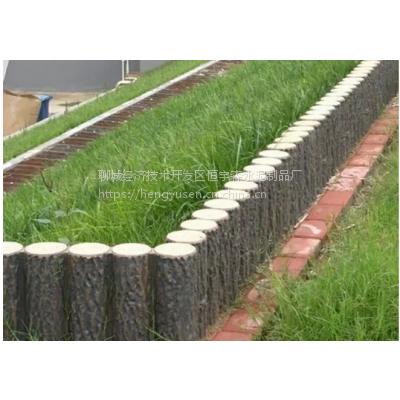海口仿木路沿石栅栏、河道护栏 厂家供货
