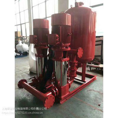 卓全自动给水泵XBD8.5/40G-GDL多级消防泵消火栓泵
