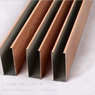 镀锌钢方通规格、尺寸、U形锌钢方通价格。