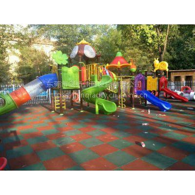 定制幼儿园橡胶地板 防震加厚安全橡胶地垫厂家直销