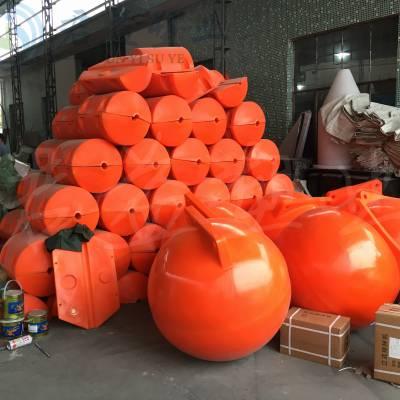 浮球1000直径大型海上浮球 直径1.2米航标浮球 君益塑料浮球报价