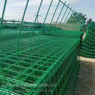 宜春安全围栏网高速公路隔离双边丝护栏网圈地围栏网多钱哪里有价格多少