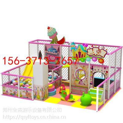 厂家直销 室内电动淘气堡儿童乐园智勇大闯关糖果主题乐园游乐设备