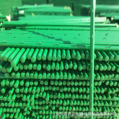 沃达热镀锌刺铁丝隔离栅光伏电站刺绳防护栅栏草原防护网立柱