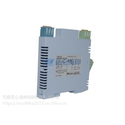 昆仑海岸安全栅FBE041现场电源配电信号输入隔离式安全栅一入一出无锡昆仑海岸
