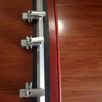 导料槽防溢裙板夹持器 防溢裙板夹持器 不锈钢 镀锌 国龙