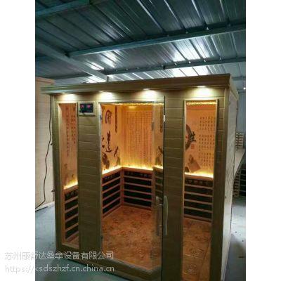 上海家用汗蒸房定制厂家专业承建韩式桑拿房工KSD-J6102包工包料1800元一平起免费出设计