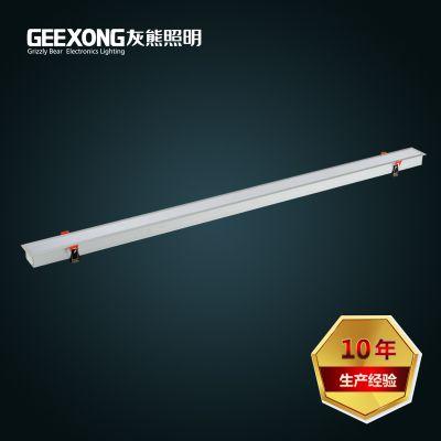 灰熊照明厂家直销LED一体化支架灯40w嵌入式LED办公灯净化灯洁净灯暗装支架灯