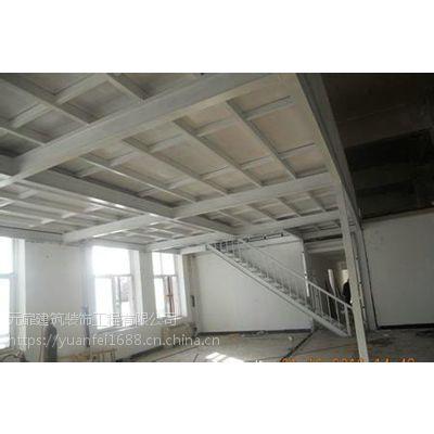 钢结构阁楼设计,厂房超市学校阁楼搭建