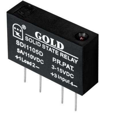 【单列直插式直流固体继电器 】SDE3005D橡塑机械行业使用 固特厂家自行研发生产