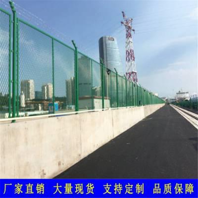 汕尾墓园防护网栅栏 Q235围墙栏杆 潮州厂区隔离护栏 道路园林金属围栏
