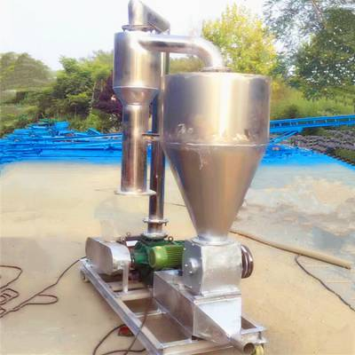 [都用]滑石粉装卸吸粮机 环保型封闭式吸粮机 移动式气力输送机