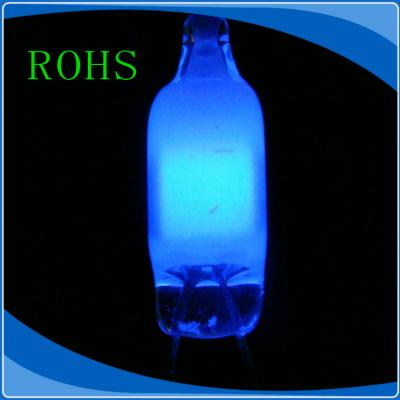 厂家供应LC NE-2B 4*10 蓝光氖灯 氖泡 蓝色指示灯