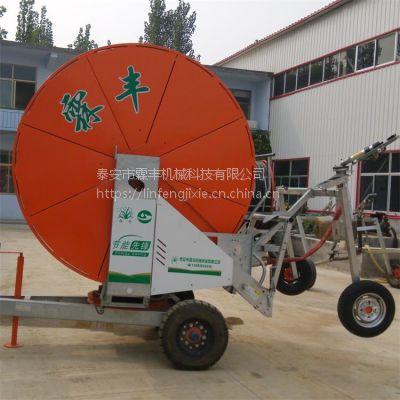 农业灌溉设备批发山东霖丰400米长大型喷灌机
