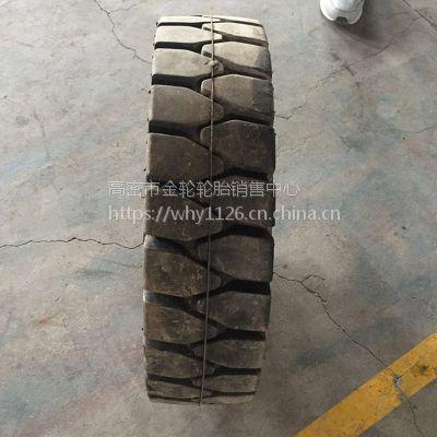 直销 4.00-8 叉车轮胎 实心叉车工程机械轮胎 全新电话15621773182