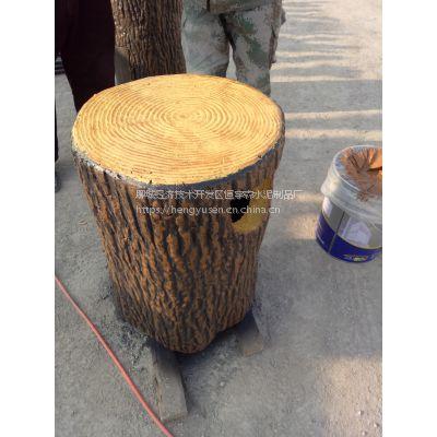 水泥仿木垃圾桶 花箱是现在城市建设中不行缺少的一部分