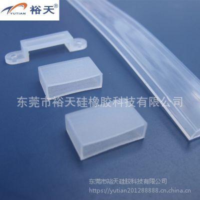硅胶管异形硅胶管套管 LED管材 生产厂家