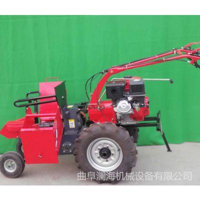 汽油9马力单垄苞米玉米收获机 手推式玉米收割机 农用玉米收获机械