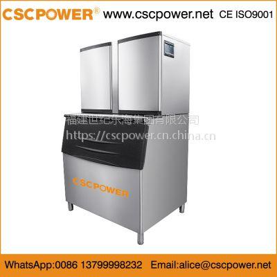 675kg/1500lb 厂家直销 制冷设备公司 制冰机 颗粒冰机