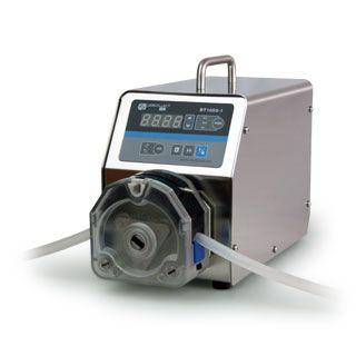 BT100S-1调速型蠕动泵 0.00016-570毫升/分钟 简易分装控制 485 JSS/金时速