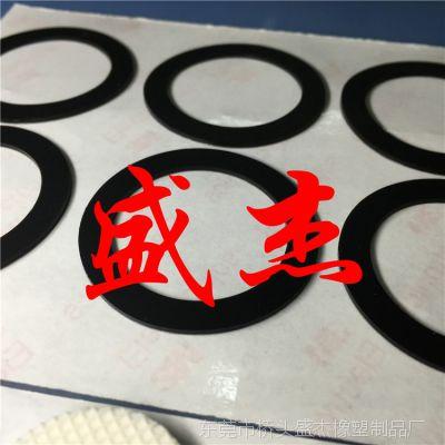 生产直销自粘透明硅胶防滑贴 防震防磨擦垫圈厂家