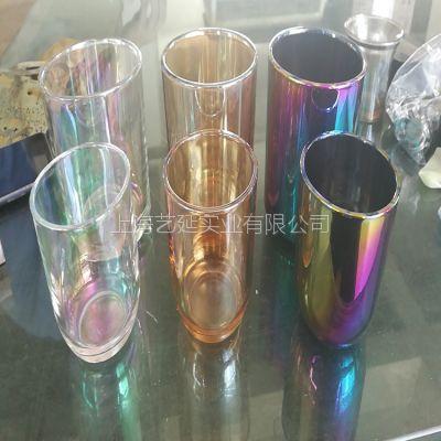 玻璃真空电镀琥珀色、真空镀膜加工、PVD镀膜、艺延实业