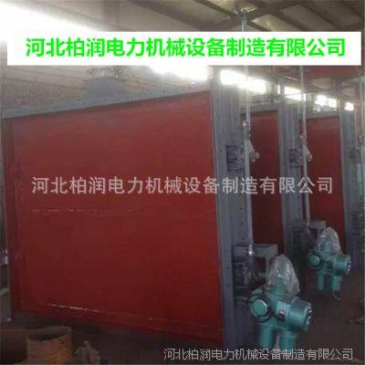 插板式电动隔绝门 电动冷热风插板式隔绝门